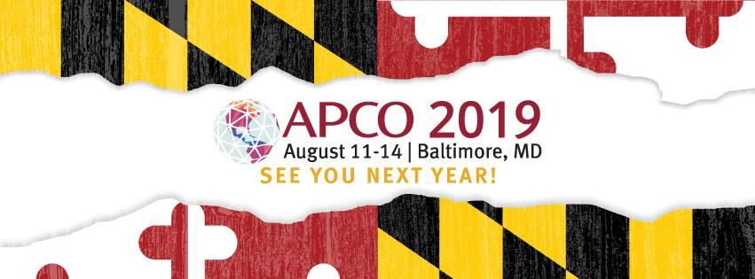 APCO 2019 banner