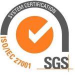 ISO 27001 accreditation logo