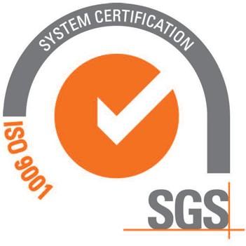 ISO 9001 accreditation logo