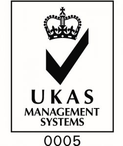 ukas management systems accreditation logo